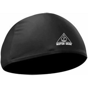 Water Gear Black Lycra Swim Cap